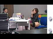 during an office break maki hojo toys her.