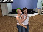 horny 3d cartoon punk stud getting his cock sucked