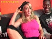 blonde loves black meat