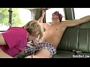Sexy blonde hunk is sucking this hot straight studs big cock