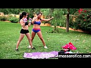 sensual oil massage turns to hot lesbian action 18