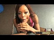 Black girl sucks several dicks ending with a nice facial bukkake 10
