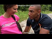 Picture Pigtailed girl fucked on the side of all the...