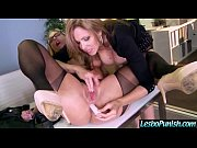 (julia&amp_olivia) hot girl get punish hard by mean.