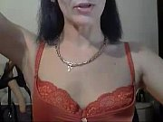 russian mommy talks dirty on webcam.