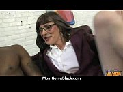 White horny mom in interracial hard sex 26