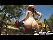 Girl With Sexy Big Round Ass Get Oiled And Fucked clip-30