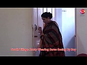 south village aunty wearing saree