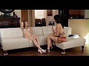 Teen chick in a casting scene