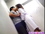 Yuko Tachibana has cum pouring from mouth after sucking boner