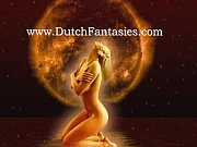 Blonde dutch milf with gl...