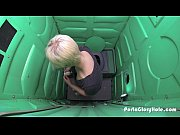 porta gloryhole boyish blonde sucks strangers.