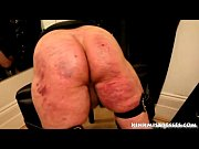 brutal caning on the bench -.