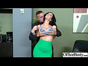hardcore sex with horny big tits office sluty.