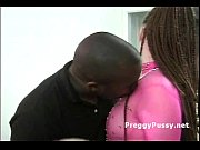 Black guy licks and fingers big fat pregnant womans wet pussy