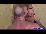mature daddy bear bangs his tattooed.
