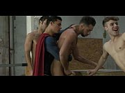 young studs fuck by superman and.