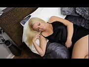 Blonde Plays With A Cock After Sleeping POV