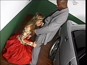 Babe In Ballroom Gown Gives Awesome Parking Lot Blowjob - Keporn.com
