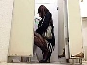 japan crossdresser cum in toilet -.