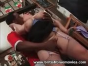 Picture British Amateur BBW Milf take a Big Black Co...