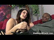 Big Tit Brunette Noelle Easton fucks a huge Black Cock