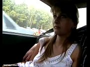 A busty sex hungry blonde chick has sex with her boss in car - limousine bigtits video - XaXTube.com