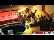15 party whores sucking stripper dick.