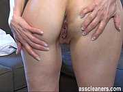 Mistress spreads her ass hole to tease men