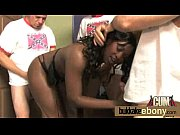 ebony interracial group sucking and fucking.