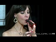 angelina leigh smokes a cigar