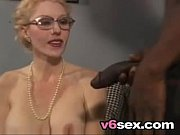 busty blonde milf takes her black dick like.