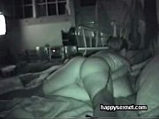 Hidden cam cught my mom masturbating on bed