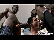 Interracial Bareback Hardcore Gay Sex Video 19
