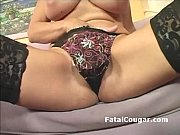 amazing milf with natural big tits shows off.