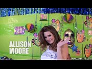 Picture Allison Moore Gets Her Huge Tits Covered in...