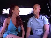 Redhead goes for a car BLOWJOB and much more! Pt1