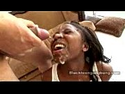 Black Teen Gangbang - Amile Waters (Ebony Black Bukkake)