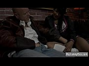 pretty cheerleader shemale anal banged by nasty bald guy