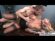 (britney shannon) Hot Big Tits Girl Get Hard Style Sex In Office video-10