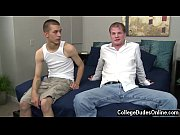 Nude men Marco wants his let out as well and whips out of Tory&#039_s