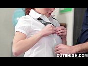 cute redhead fucked by teacher