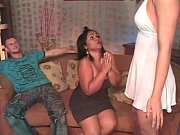 Tranny sucking cock and ass fucked