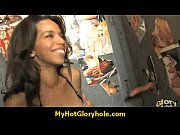 Gloryhole black babe honey sucks cock 20