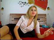 www.sexroulette24.com - webcam girl smoking cigarette.
