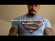 muscle god samson williams bodybuilder porn star super flexing