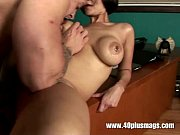 Picture Horny wife with pierced tits fucked hard