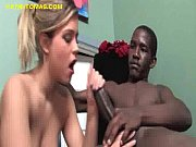 Blonde Worship Black Cock
