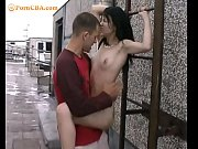 Hot outdoor sex with sweet teen