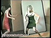 Stocking Catfight Husband's Challenge 1